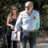 José Carlos Bernal y Carmen Almoguera visitando a Terelu Campos tras la doble mastectomía
