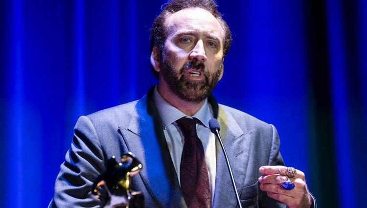 Nicolas Cage recibe un premio honorífico en el Festival de Cine Fantástico de Sitges 2018