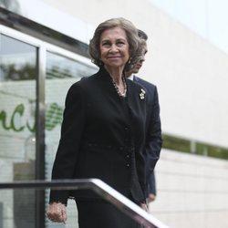 La Reina Sofía acude al entierro de Montserrat Caballé