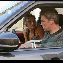 Ben Affleck y Shauna Sexton en Los Ángeles
