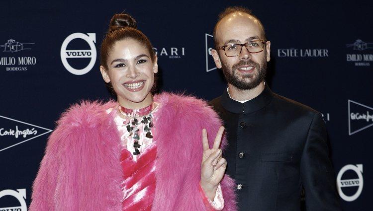 Cósima y Tristán Ramírez en el tributo de Telva a Naty Abascal