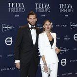 Rudy Fernández y Helen Lindes en el tributo de Telva a Naty Abascal