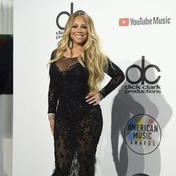 Mariah Carey en los American Music Awards 2018
