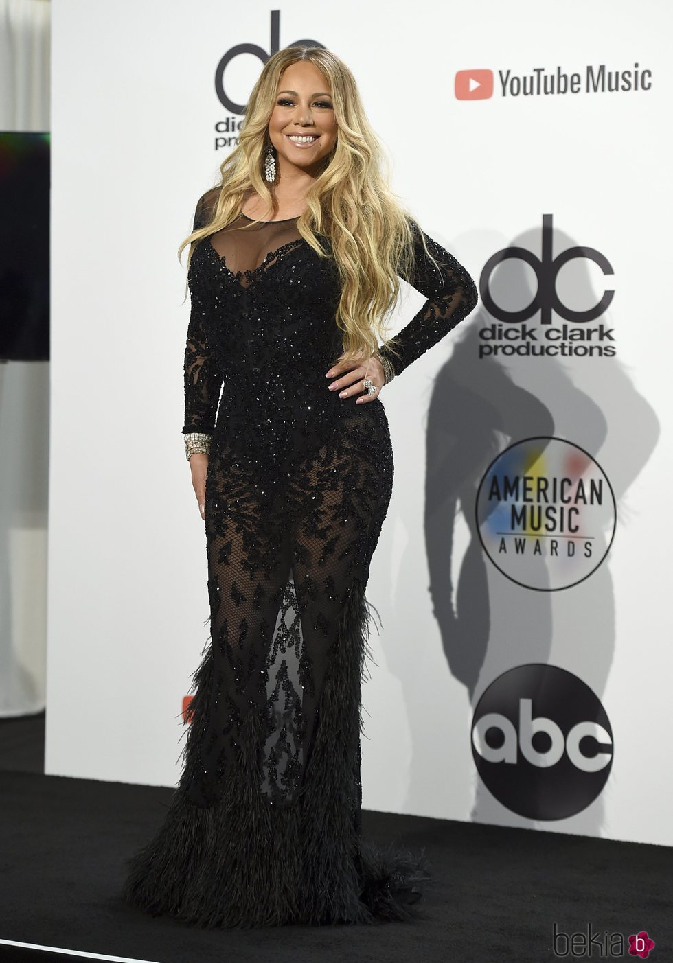 Mariah Carey en los American Music Awards 2018