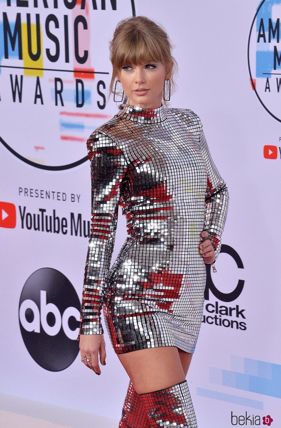 Taylor Swift en los American Music Awards 2018