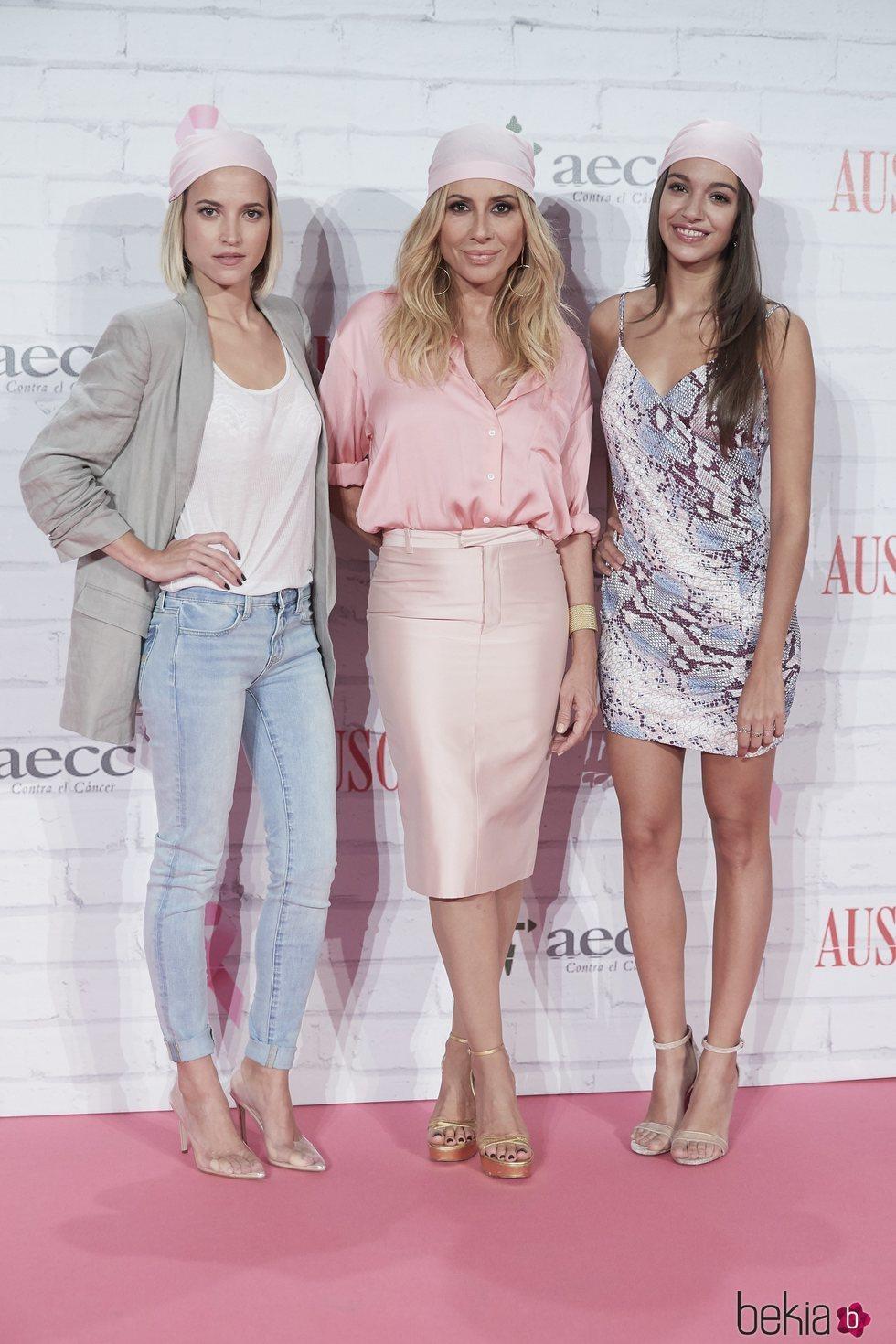 Ana Guerra, Ana Fernández y Marta Sánchez, embajadoras de la lucha contra el cáncer de mama