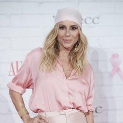 Marta Sánchez, embajadora de la lucha contra el cáncer
