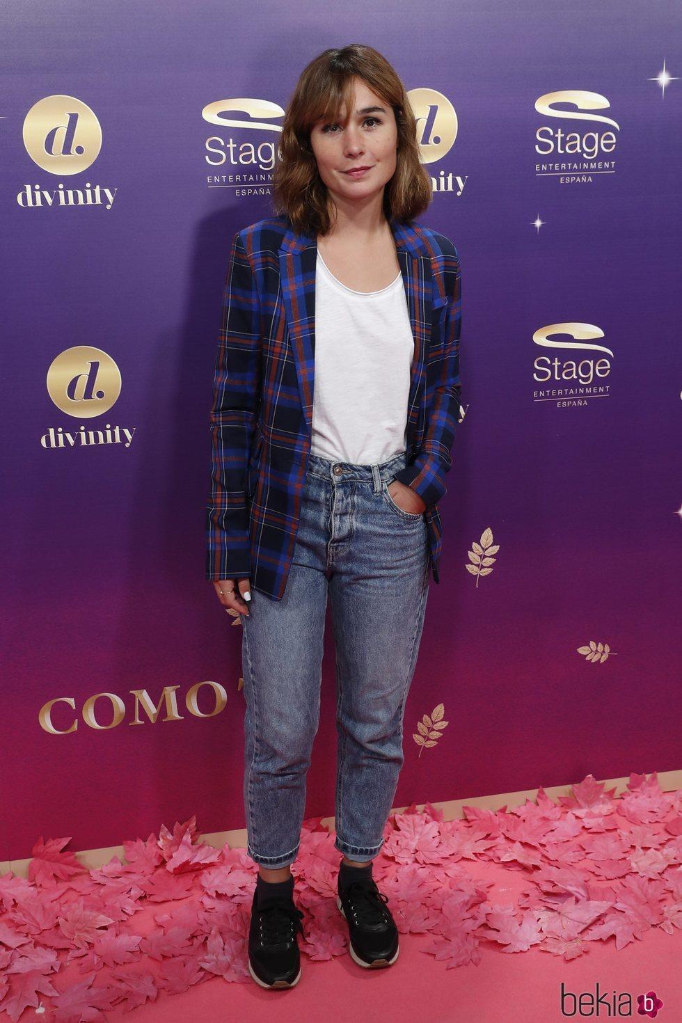 Nadia de Santiago en el estreno del musical 'Anastasia' en Madrid