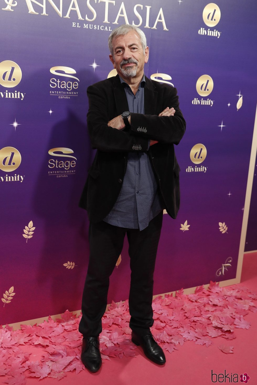 Carlos Sobera en el estreno del musical 'Anastasia' en Madrid