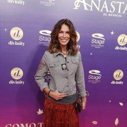 Lidia Bosh en el estreno del musical 'Anastasia' en Madrid