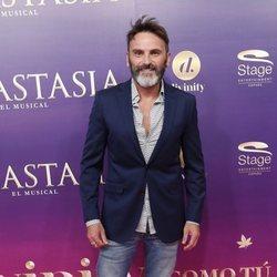 Fernando Tejero en el estreno del musical 'Anastasia' en Madrid