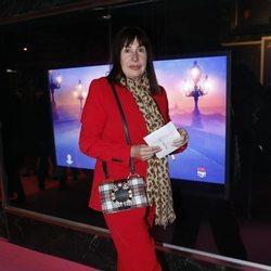 Carmen Martínez-Bordiú en el estreno del musical 'Anastasia' en Madrid