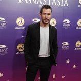 Alejandro Albarracín en el estreno del musical 'Anastasia' en Madrid