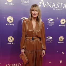 Raquel Meroño en el estreno del musical 'Anastasia' en Madrid