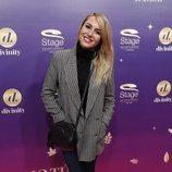 Berta Collado en el estreno del musical 'Anastasia' en Madrid