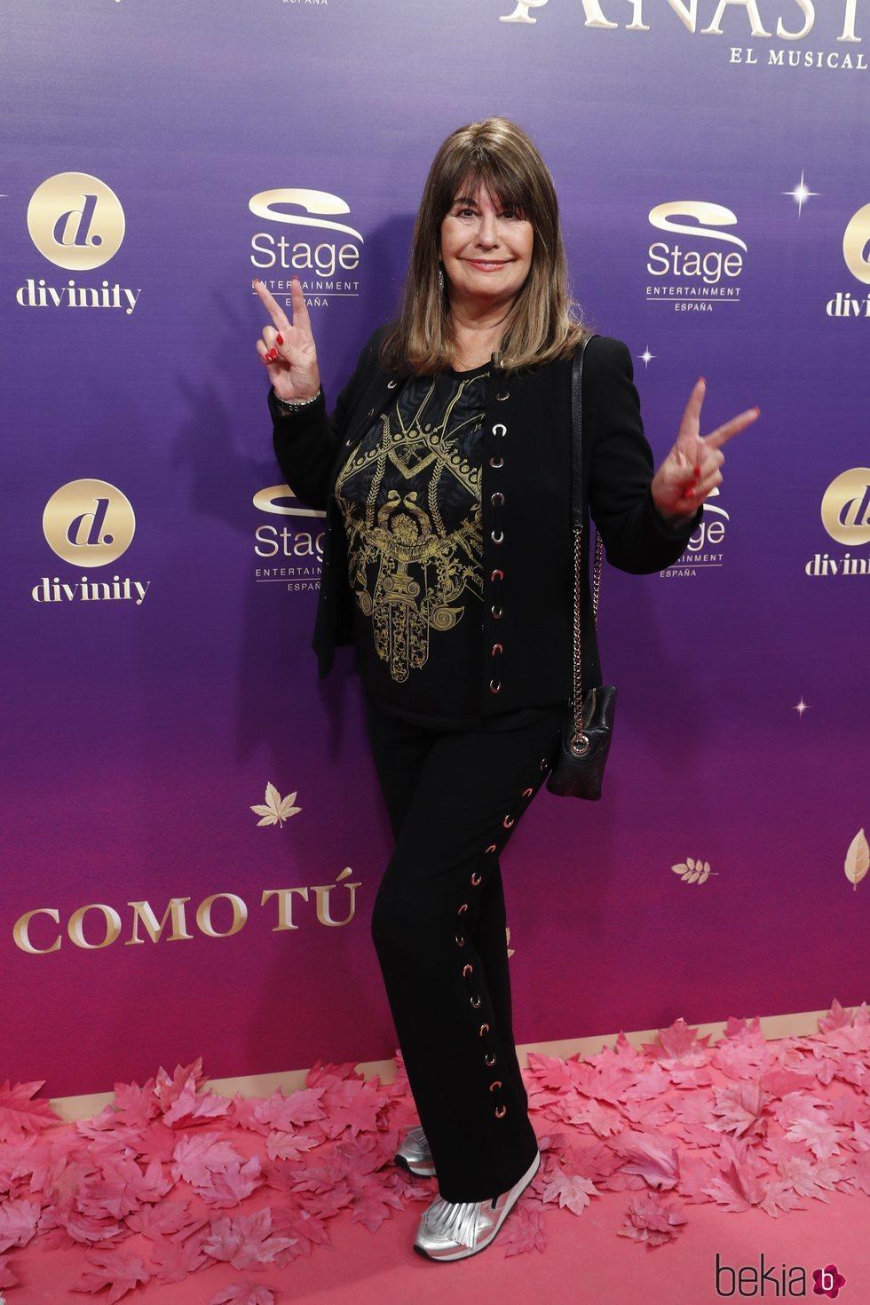 Esperanza Gracia en el estreno del musical 'Anastasia' en Madrid