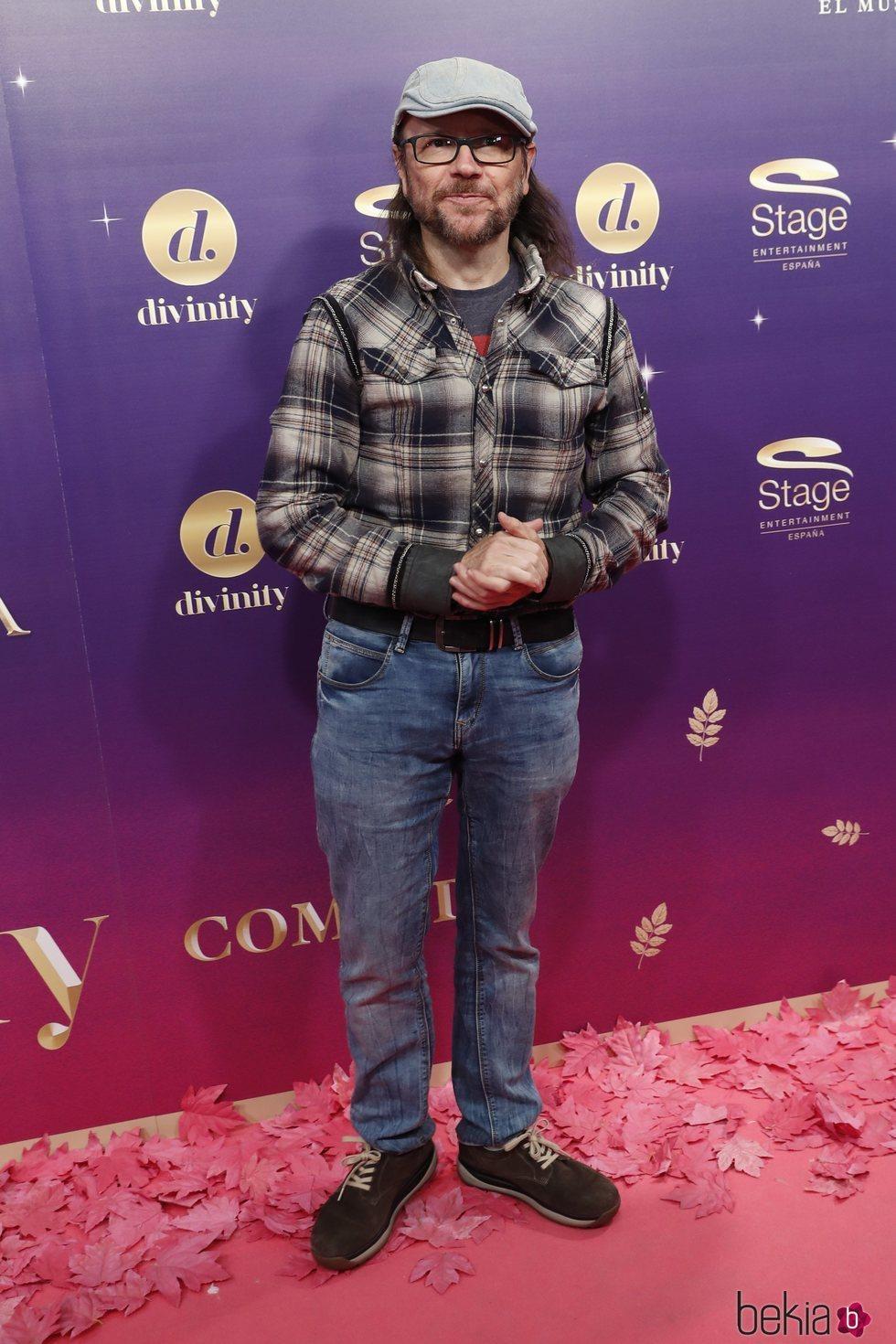 Santiago Segura en el estreno del musical 'Anastasia' en Madrid