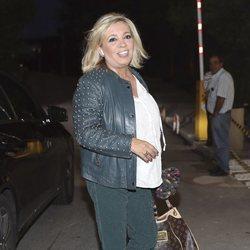 Carmen Borrego visitando a Terelu Campos una semana después de su doble mastectomía