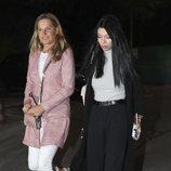 Alejandra Rubio visitando a Terelu Campos una semana después de su doble mastectomía