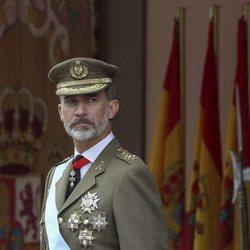 El Rey Felipe en el desfile del Día de la Hispanidad 2018