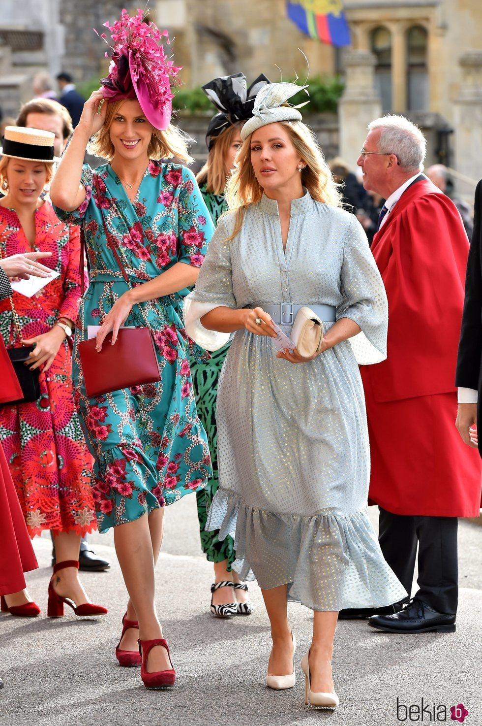 Ellie Goulding en la boda de Eugenia de York y Jack Brooksbank