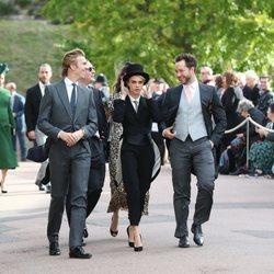 Cara Delevingne en la boda de Eugenia de York y Jack Brooksbank