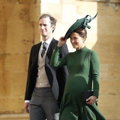 Pippa Middleton y James Matthews en la boda de Eugenia de York y Jack Brooksbank