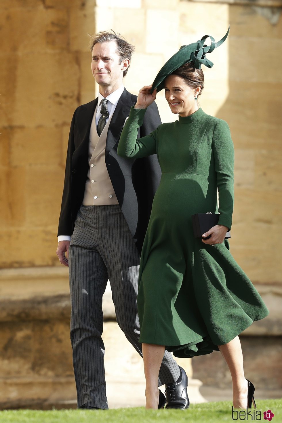 Pippa Middleton y James Matthews en la boda de Eugenia de York y Jack Brooksbank