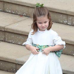 La Princesa Carlota en la boda de Eugenia de York y Jack Brooksbank