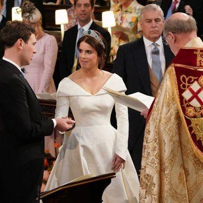 Eugenia de York y Jack Brooksbank pronuncian sus votos en su boda