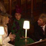 Christian de Hannover y Sassa de Osma en la boda de Eugenia de York y Jack Brooksbank