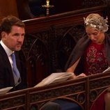 Pablo de Grecia y Olympia de Grecia en la boda de Eugenia de York y Jack Brooksbank