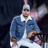 Omar Montes en una gala de 'Gran Hermano VIP 6' tras su expulsión