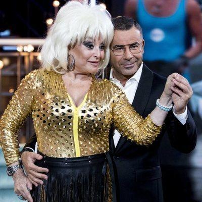 Jorge Javier Vázquez y Aramís Fuster durante una gala de 'Gran Hermano VIP 6'