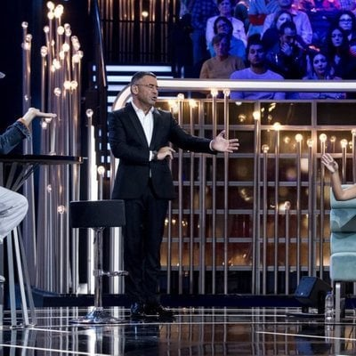 Omar Montes y Chabelita Pantoja discutiendo durante una gala de 'Gran Hermano VIP 6'