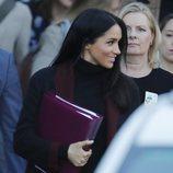 Meghan Markle durante una visita oficial en Australia