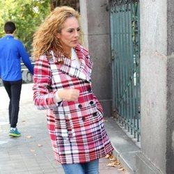 Rocío Carrasco por las calles de Madrid