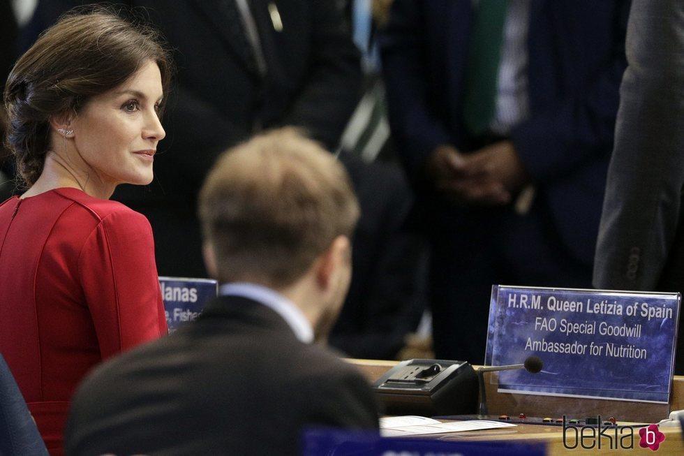 La Reina Letizia en el Día Mundial de la Alimentación