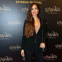 Lorena Van Heerde en el estreno del musical de 'El médico' en Madrid