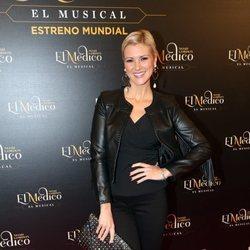 María Jesús Ruiz en el estreno del musical de 'El médico' en Madrid