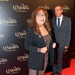 Massiel en el estreno del musical de 'El médico' en Madrid
