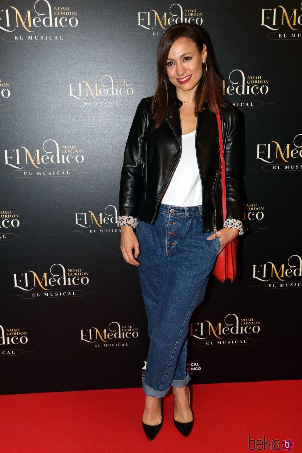 Natalia Verbeke en el estreno del musical de 'El médico' en Madrid