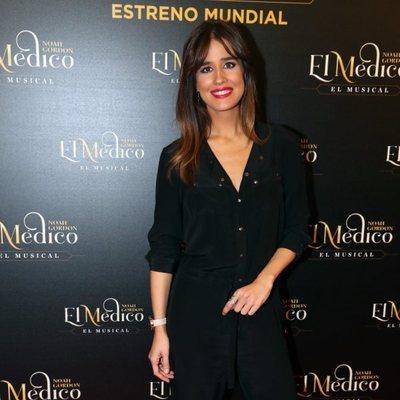 Isabel Jiménez en el estreno del musical de 'El médico' en Madrid