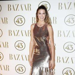 Laura Sánchez en la alfombra roja de los Premios Harper's Bazaar Actitud 43 2018