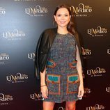 Cristina Alarcón en el estreno del musical de 'El médico' en Madrid