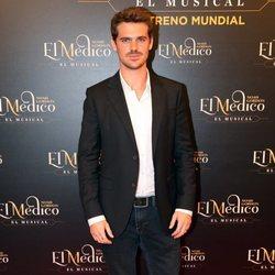 Gonzalo Ramos en el estreno del musical de 'El médico' en Madrid