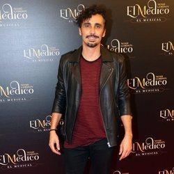 Canco Rodríguez en el estreno del musical de 'El médico' en Madrid
