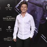 Raoul Vázquez en el estreno del musical de 'El médico' en Madrid