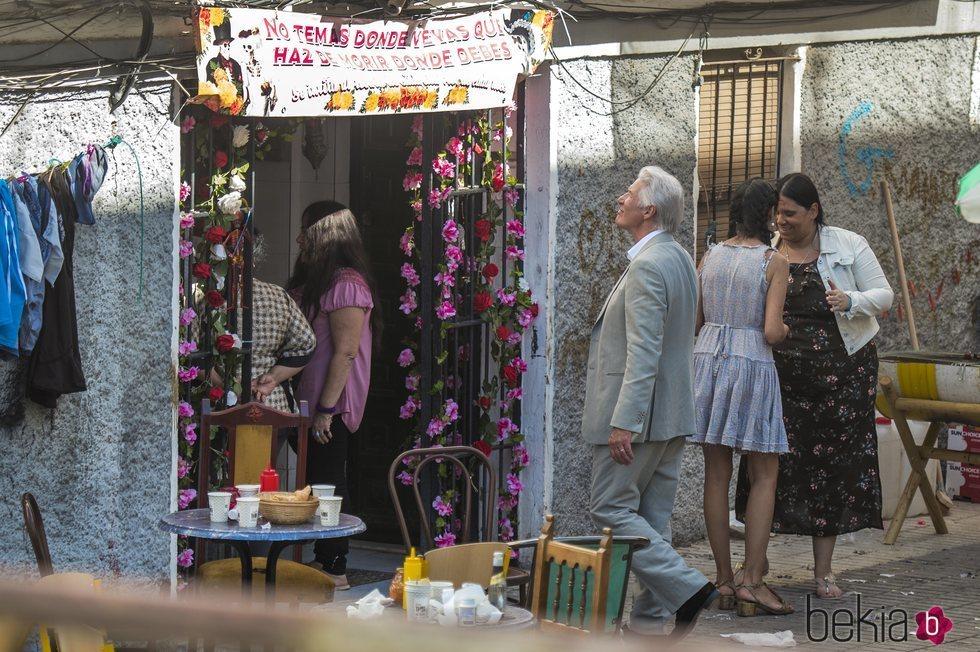 Richard Gere durante el rodaje de 'MotherFatherSon' en Sevilla