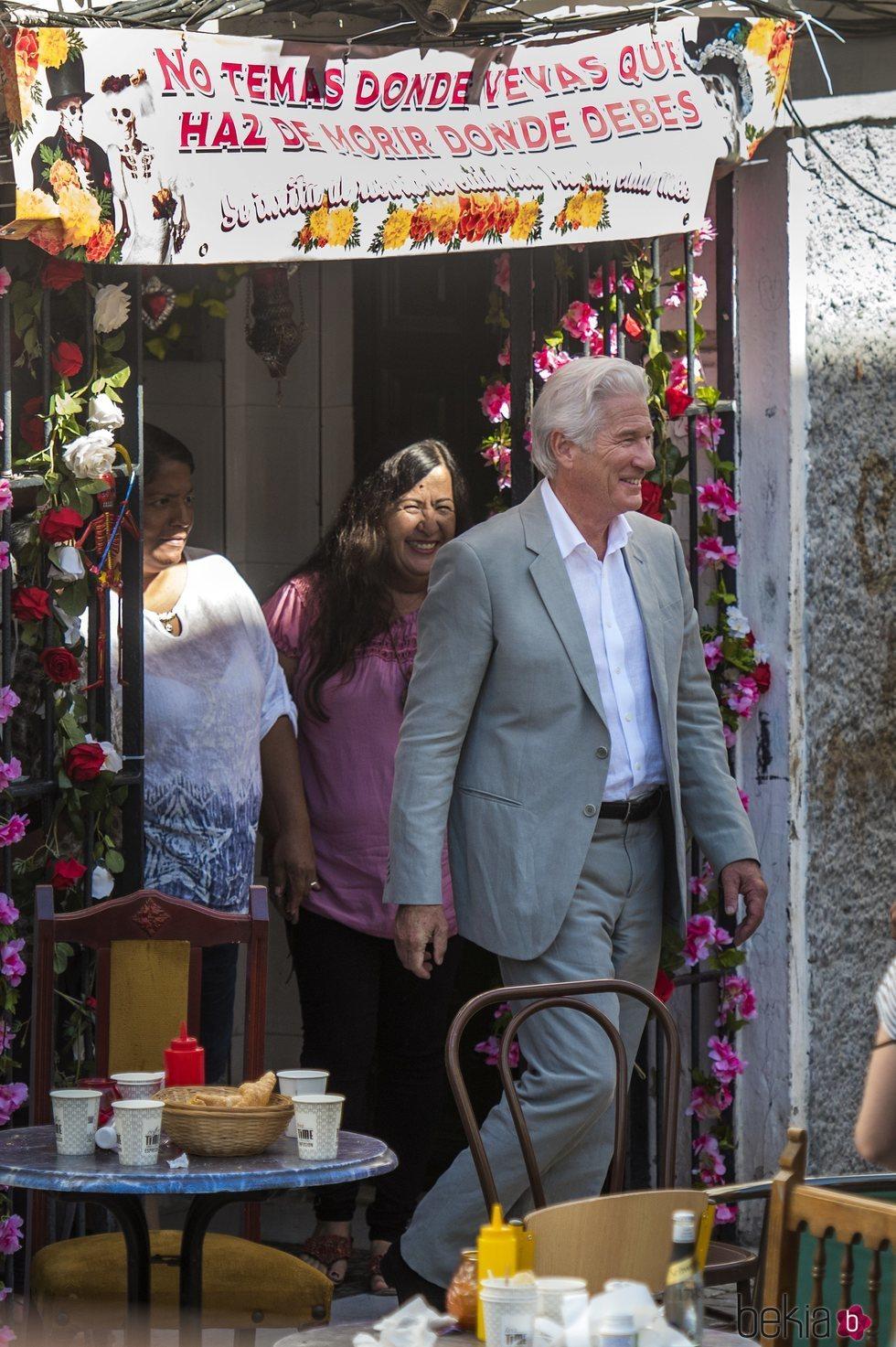 Richard Gere en Sevilla rodando 'MotherFatherSon'